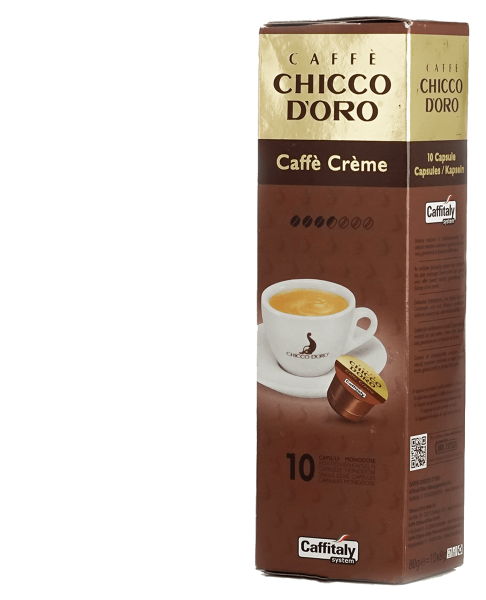 chicco doro kaffee creme 10 kapseln caffitaly