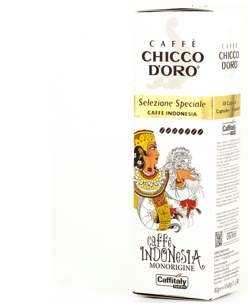 chicco doro single origin kaffee indonesia 10 kapseln caffitaly