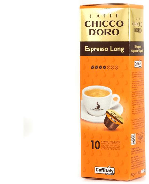 chicco doro kaffee espresso long 10 kapseln caffitaly