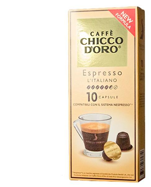 Espresso Italiano, 10 Kapseln, Nespresso® kompatibel