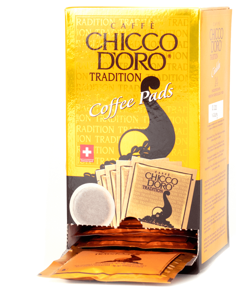 chicco doro kaffee tradition 24 kaffeepads