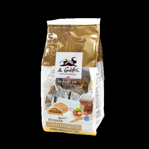 Bündner Mini-Chocotörtli, 12 Stück à 19 g