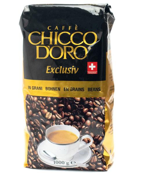 Chicco d'Oro Exclusiv Espresso, ganze Bohnen