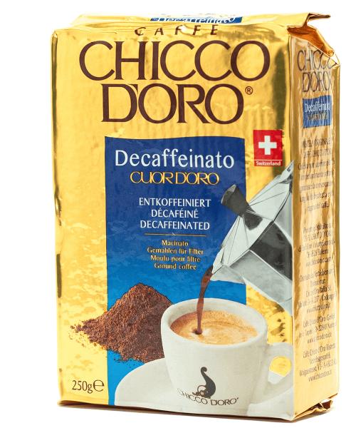 chicco doro entkoffeiniert koffeinfreier kaffee gemahlen filter