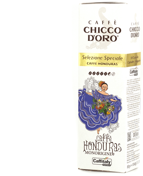 chicco doro single origin kaffee honduras 10 kapseln caffitaly