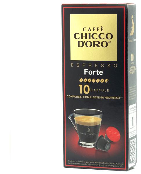 Espresso Forte, 10 Kapseln, Nespresso® kompatibel