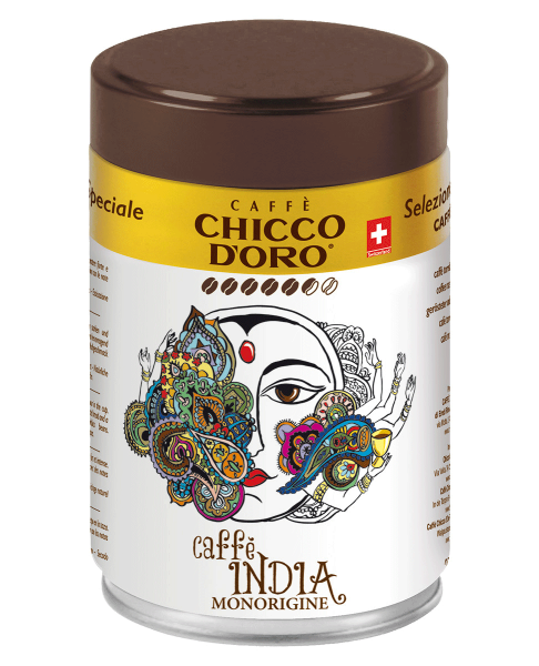 Chicco d'Oro INDIA Dose 250g, ganze Bohnen