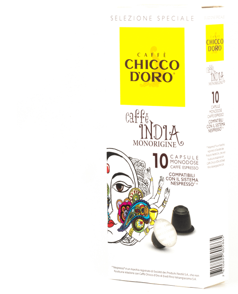 chicco doro kaffee single origin india 10 kapseln nespresso kompatibel