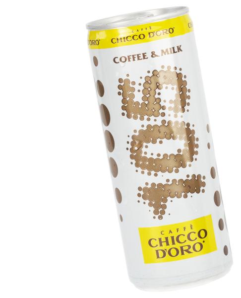 chicco doro kaffeegetränk energy drink mit kaffee und milch