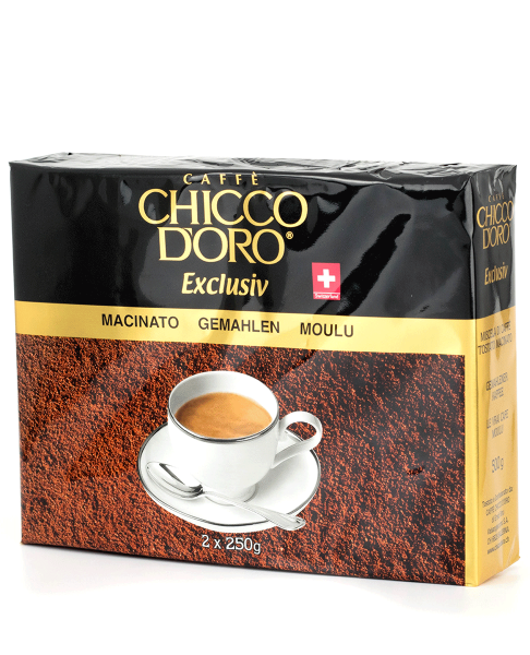 Chicco d'Oro Exclusiv Duo-Pack 2x250g, gemahlen